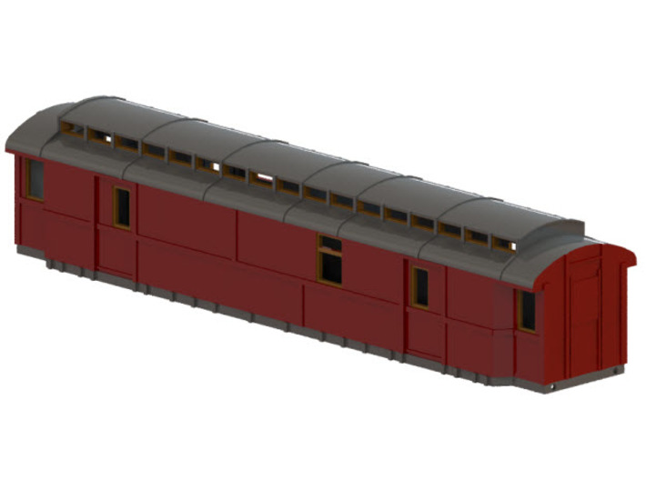 Do5 - Swedish passenger wagon 3d printed CAD-model