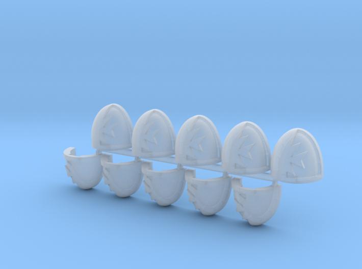 Space Templars Shoulder Pads #5 R X10 3d printed