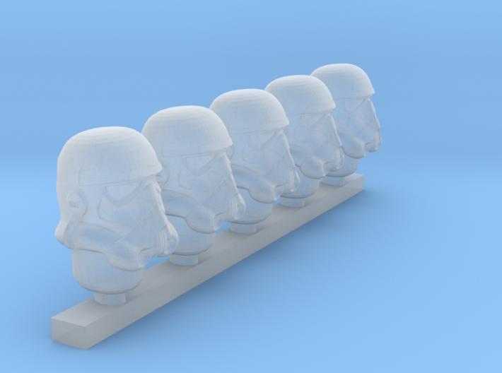 stormtrooper helmet classic 3d printed
