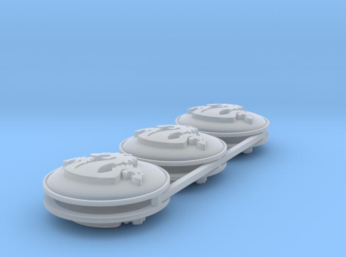 Hydra Shields 28mm x6 3d printed