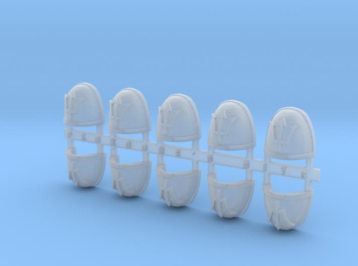 Trident 2 V.7 Shoulder Pads x10 3d printed