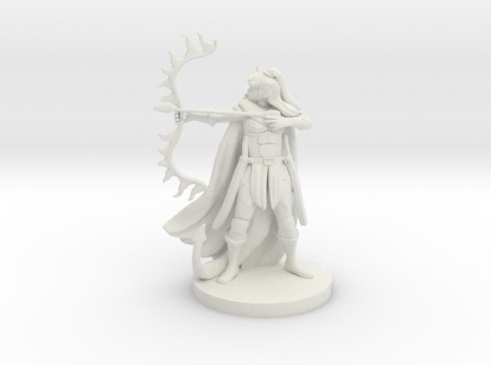 Tiefling Female Ranger 3d printed