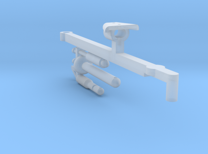1/64 Small Square Baler Hitch Part #2 3d printed