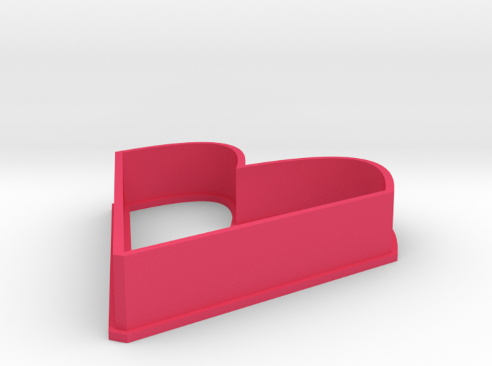 heart shaped cookie cutter 3d printed