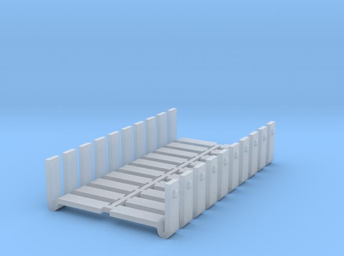 D&RGW style boxcar corner braces v2 3d printed