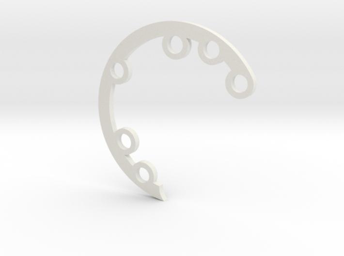 Rad Fin A Hinge 3d printed