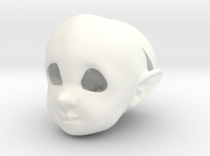 BJD Sprite Head: Torben 3d printed