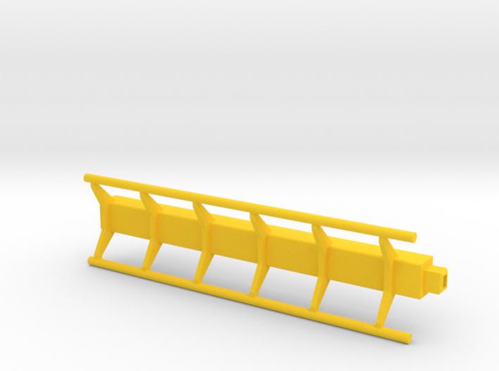 straight roller coaster rail 3d printed