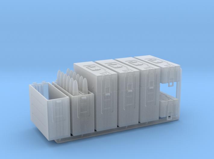 1/16 3.7cm Flak Ammo Boxes 3d printed
