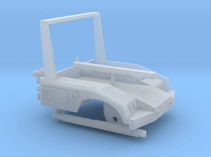 1/64th Small Tow Truck Wrecker Repo Bed body 3d printed