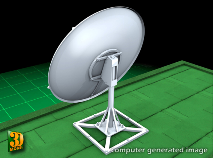 Satellite dish (60mm) double pack 3d printed Satellite dish 60 mm double pack