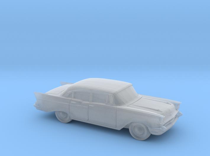 1/120 1X 1957 Chevrolet One Fifty Sedan 3d printed