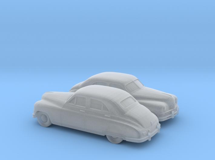 1/120 2X 1948-50 Packard Super Eight Series Sedan 3d printed