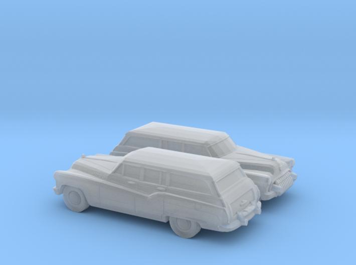 1/120 2X 1950 Buick Roadmaster Station Wagon 3d printed