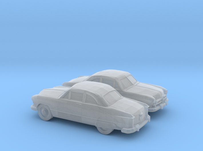 1/120 2X 1949 Ford Custom Fodor Coupe 3d printed
