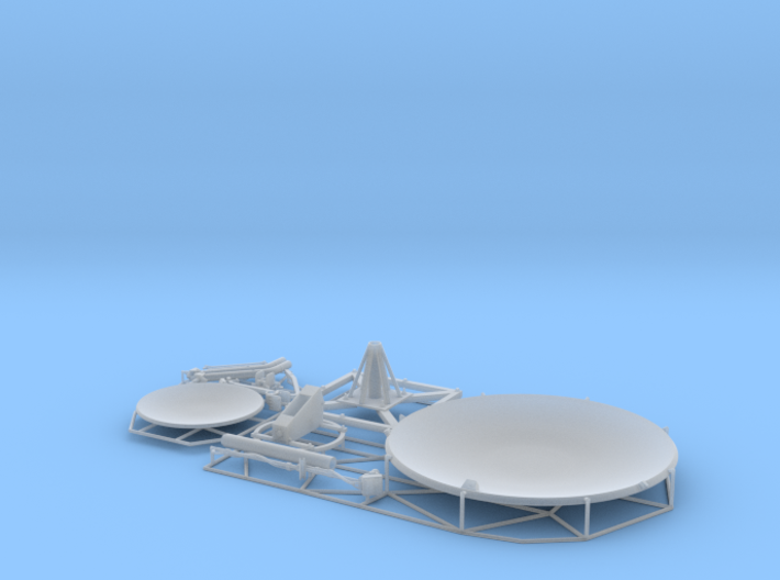 Satellite dish (30+60mm) - combo 3d printed