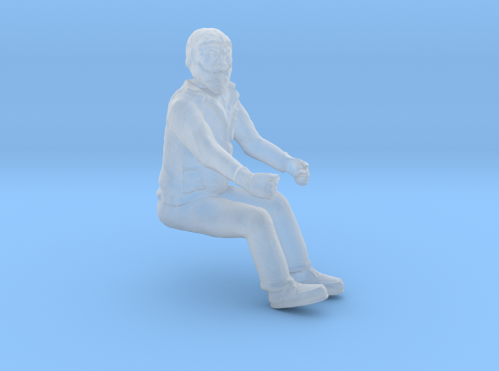 Equipment Operator, Seated S Scale 3d printed