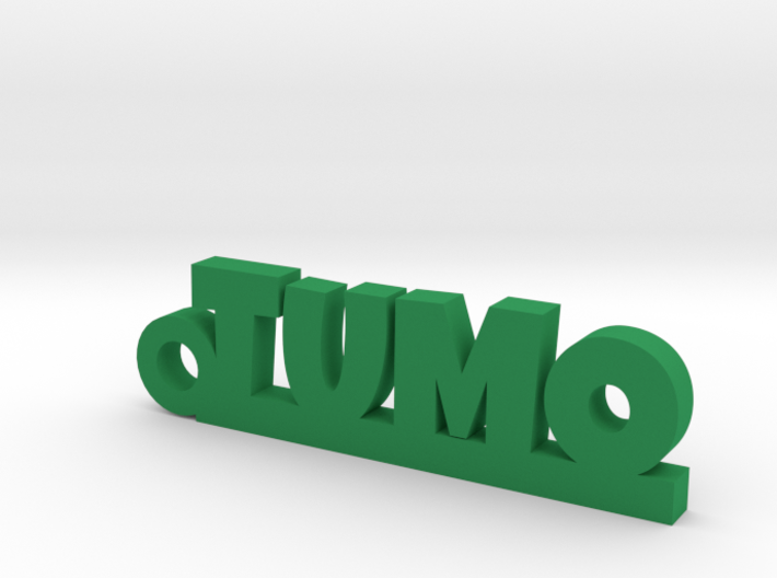 TUMO_keychain_Lucky 3d printed