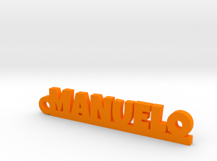 MANUELO_keychain_Lucky 3d printed