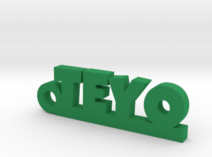 TEYO_keychain_Lucky 3d printed