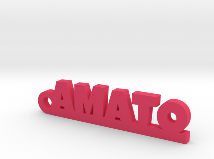 AMATO_keychain_Lucky 3d printed
