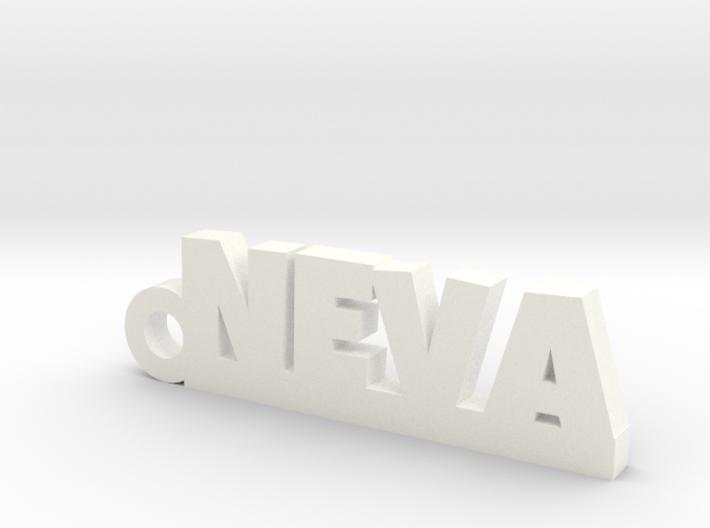 NEVA_keychain_Lucky 3d printed