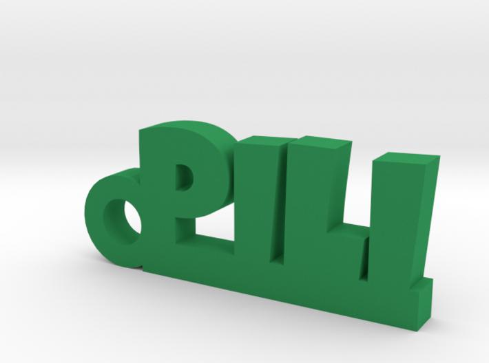 PILI_keychain_Lucky 3d printed