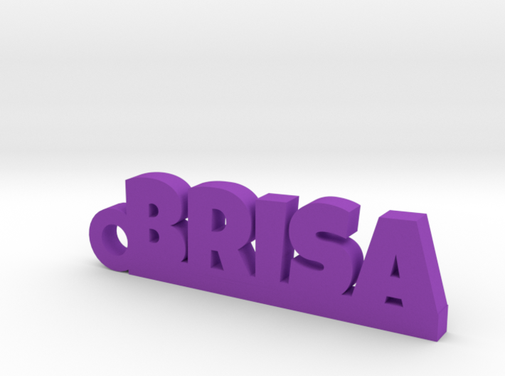 BRISA_keychain_Lucky 3d printed