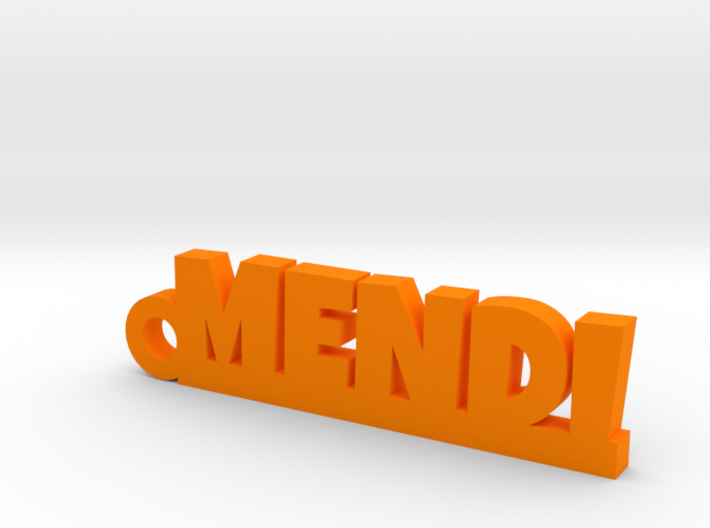MENDI_keychain_Lucky 3d printed