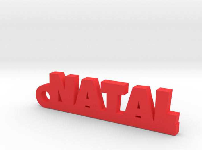 NATAL_keychain_Lucky 3d printed