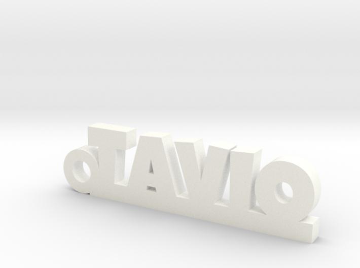 TAVIO_keychain_Lucky 3d printed
