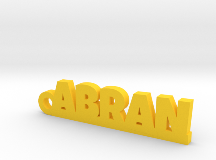 ABRAN_keychain_Lucky 3d printed
