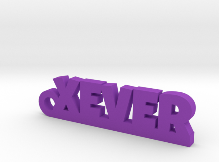 XEVER_keychain_Lucky 3d printed