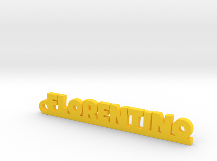 FLORENTINO_keychain_Lucky 3d printed