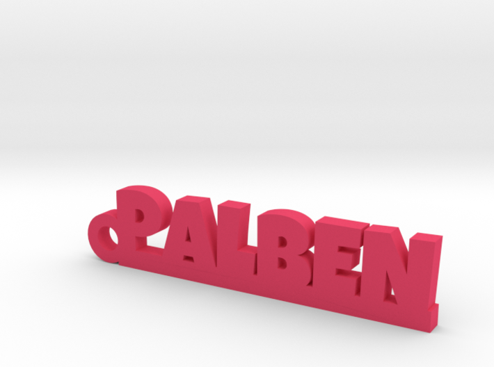 PALBEN_keychain_Lucky 3d printed