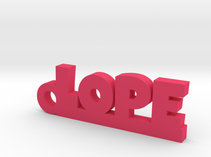 LOPE_keychain_Lucky 3d printed