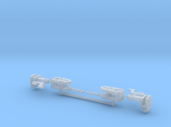 2x-couplers 3d printed