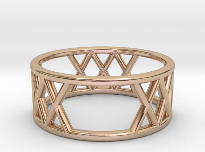 XXX Ring Size-6 3d printed
