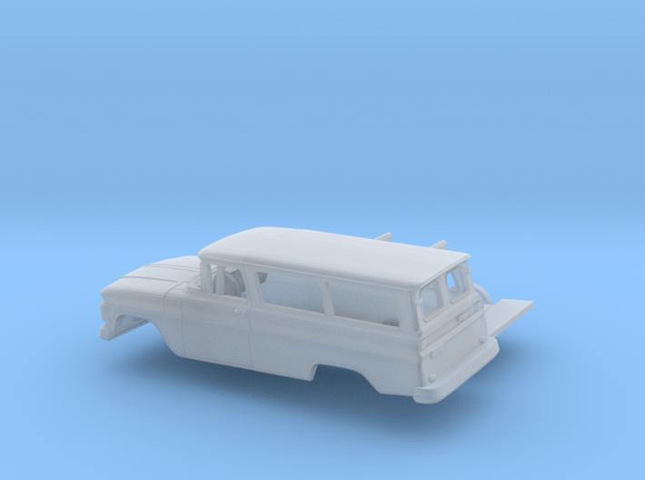 1/160 1962 Chevrolet Suburban Split Doors Kit 3d printed