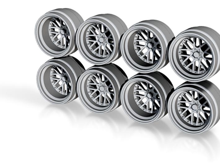 BBS RS2 9 Hot Wheels Rims 3d printed
