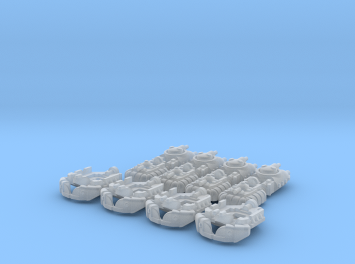 FMP Custom Minis (12 pcs) - (4 x 3 pcs) 3d printed