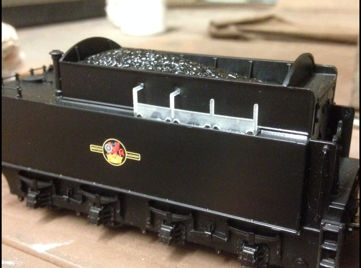5x Tool carriers WD Austerity locos 3d printed