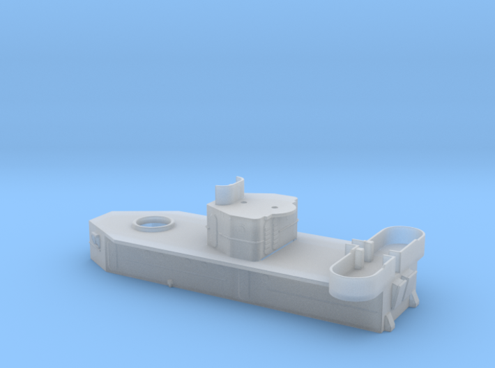 Hughes-Russell After Deckhouse (Thickened for Shap 3d printed