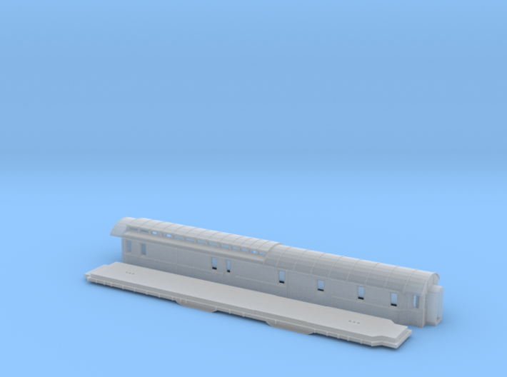 DFo3 - Swedish passenger wagon 3d printed
