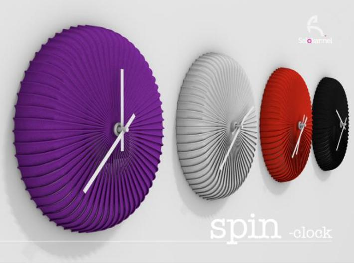 SPIN-wall clock 3d printed SPIN