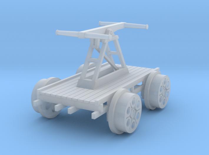 Hand Car/pump wagon OO/HO gauge 3d printed