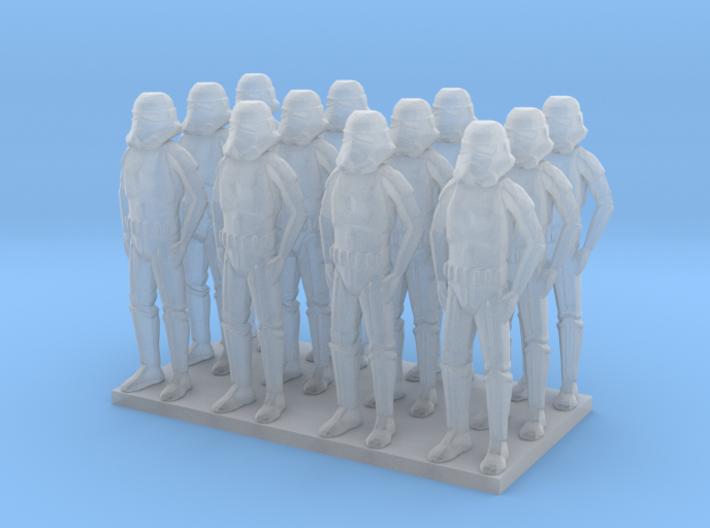 1/144 Custom Trooper X12 3d printed