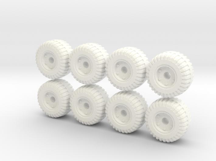 18mm diameter wide wheels 3d printed
