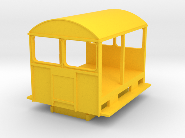 Wickham Trolley Car O 3d printed