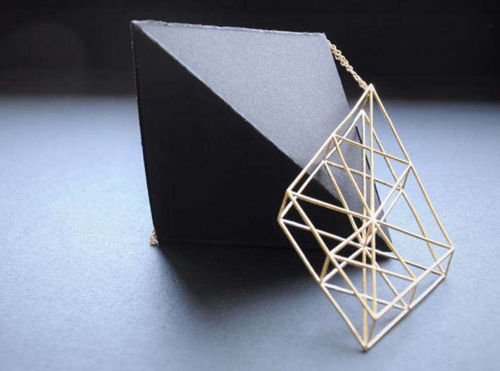 Triangles 3d printed